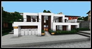 minecraft presentation d39une maison hyper moderne facile With beautiful plan de belle maison 6 maison moderne minecraft plan