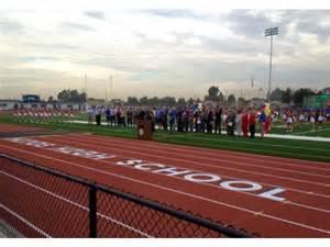 Orange High School Football Field