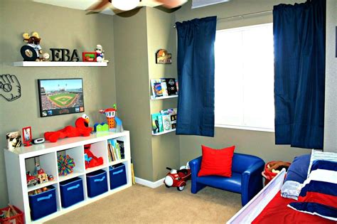 Fun Toddler Room Ideas Sports Themed Bedroom