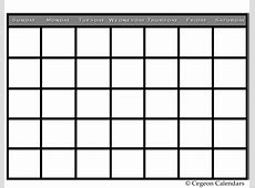 Blank Calendars To Print Without Downloading * Calendar