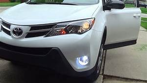 2015 Toyota Rav4 Le Fog Light Installation
