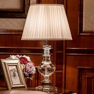 Luxury, Crystal, Table, Lamp, Bedside, Lamps, For, Bedroom, Living, Room, Decoration, Night, Light, Bedroom