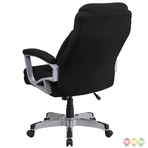 500 Lb Office Chairs by Hercules 500 Lb Capacity Big Black Fabric