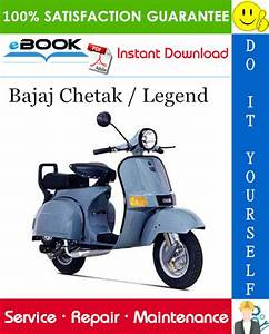 Bajaj Chetak    Legend Scooter Service Repair Manual