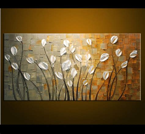 Frameless Handpainted High Quality Hang Pictures Modern