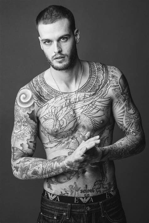 15 Male Models Reveal the Stories Behind Their Tattoos - GQ