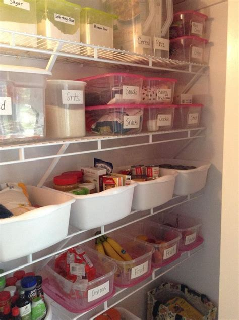 kitchen organization ideas budget pantry organization on a budget tips and tricks pinterest