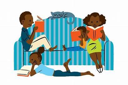 Books Clipart Reader Reading Cartoon Read Clip