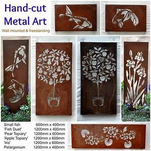Australian metal artwork, Garden Art, metal wall art Farmweld