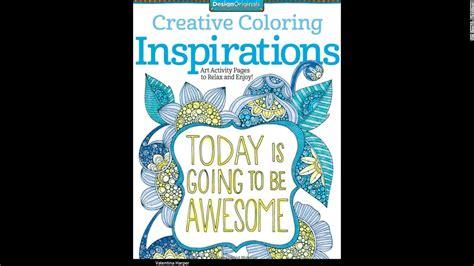 adult coloring books  good   cnn