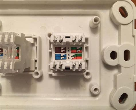 610 socket to cat 6 conversion