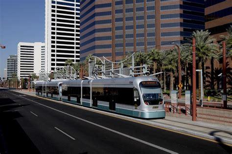 phx light rail center transitway national association of city