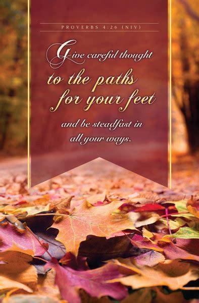 church bulletin  fall thanksgiving careful