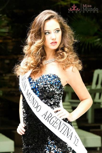 The Punk Fashion Miss Argentina Beauty Pageant Fashion