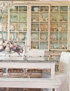 shabby chic dining room cabinets 39 beautiful shabby chic dining room design ideas digsdigs