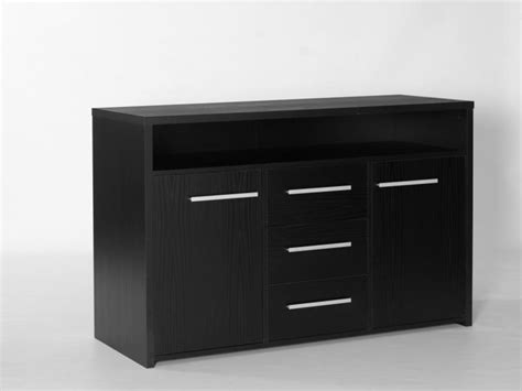 Black Sideboards by 3 Drawer 2 Door Sideboard Black Ash Beds Direct Warehouse
