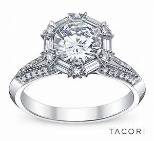 Robbins brothers engagement ring of the day tacori for Wedding rings tacori