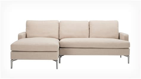 chaise com 3 pieces small sectional beige sofa with chaise and