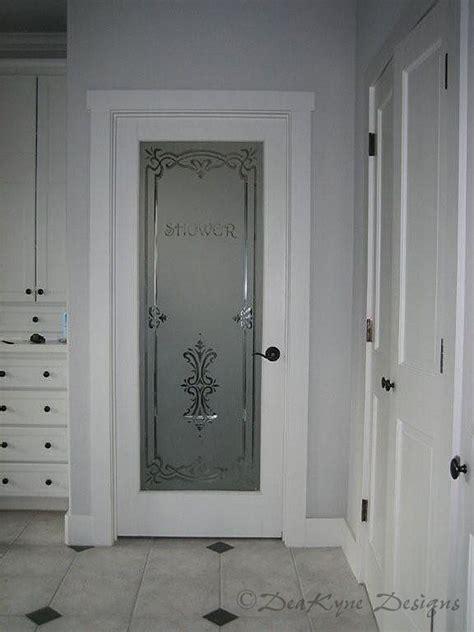 etched glass interior doors wine cellar door shaded