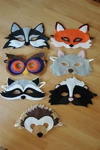 Masque Halloween A Fabriquer : masque de h risson par littlegiantleap sur etsy feutrine ~ Melissatoandfro.com Idées de Décoration