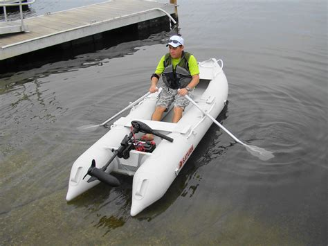 Electric Trolling Motor On A Canoe by Portable 55lbs Electric Trolling Motor For Kayak