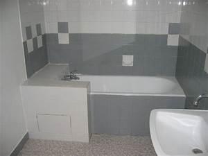 repeindre le carrelage d une salle de bain dootdadoocom With repeindre du carrelage de salle de bain