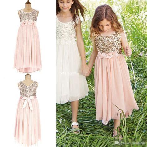 popular wedding junior bridesmaid dresses buy cheap