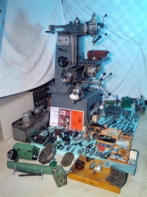 schaublin  precision universal milling machine