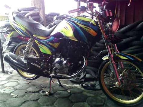 suzuki thunder 125 modif airbrush krom suzuki thunder 125 modified indonesia top