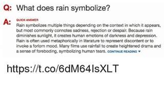 rain symbolize  quick answer rain symbolizes