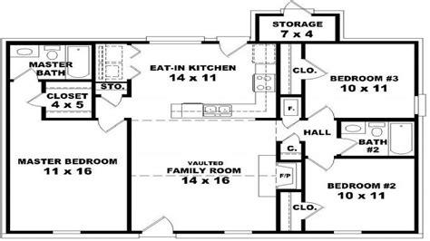 2 bedroom 1 bath house plans house floor plans 3 bedroom 2 bath floor plans for 3