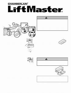 Chamberlain Liftmaster 373lm Owner U0026 39 S Manual