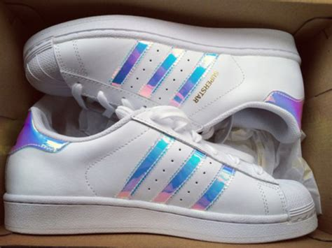 Shoes, Adidas, Adidas Superstars, Holographic