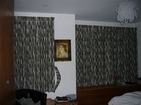 covered fascia with blackout bedroom curtains