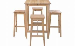 Table Haute En Bois : location ensemble tabourets voghera table haute voghera ~ Dailycaller-alerts.com Idées de Décoration