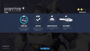 Winston Tank Abilities Overwatch Newb Gaming