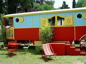 Gartenhaus Zu Verkaufen : zirkuswagen als gartenhaus ferienhaus kaufen 05 romantischer wohnwagen aus holz in ~ Markanthonyermac.com Haus und Dekorationen