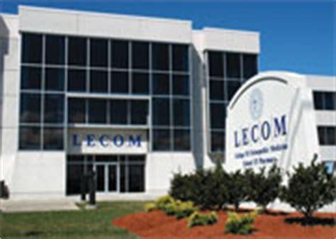 visit lecom lecom education system