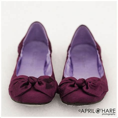 plum colored shoes plum colored wedding ballet shoes purple flats purple