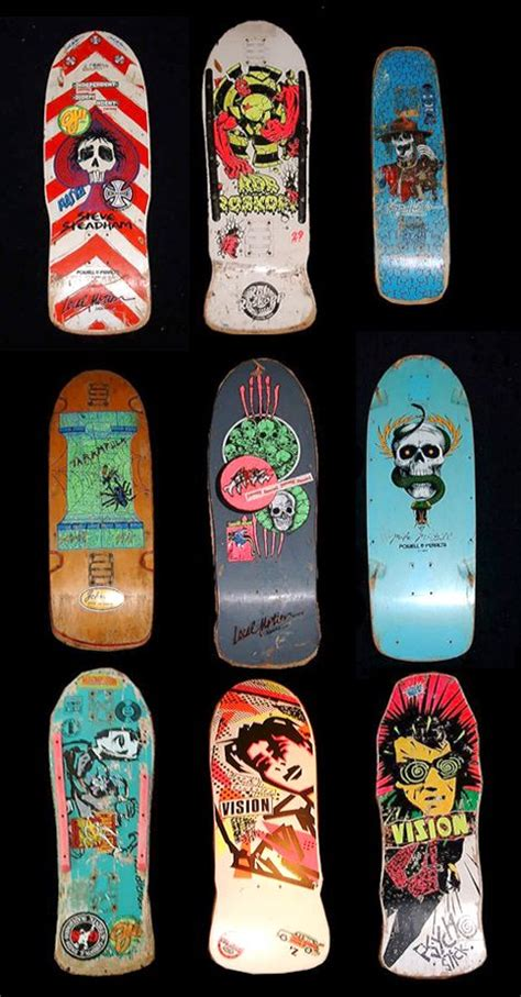 Skateboard Decks 80 by 25 Best Ideas About Vintage Skateboards On