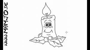 Einfache Bilder Malen : adventskerze einfach und schnell zeichnen tutorial weihnachten youtube ~ Eleganceandgraceweddings.com Haus und Dekorationen