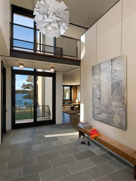 Modern Foyer Ideas by 22 229 Modern Entryway Design Ideas Remodel Pictures Houzz