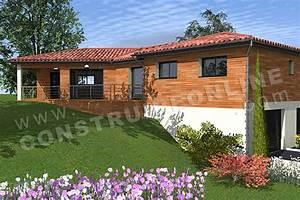 Maison Avec Sous Sol Sur Terrain En Pente : maison plain pied sur terrain en pente ventana blog ~ Melissatoandfro.com Idées de Décoration