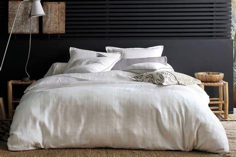 parure de lit blanc des vosges delhi