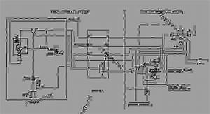 Hydraulic Schematic - Track-type Tractor Caterpillar D7r Ii  For D7r Series