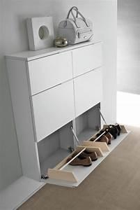Meuble Chaussure Design : meuble chaussure mural design ~ Teatrodelosmanantiales.com Idées de Décoration