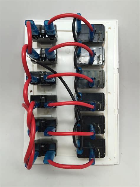 Marine Boat Waterproof White Switch Panel Circuit Breaker
