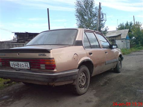 Opel Ascona For Sale by 1986 Opel Ascona For Sale 1600cc Gasoline Ff Manual