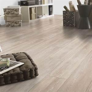 Klick vinyl tarkett starfloor click 50 cerused oak beige for Bodenbeläge vinyl bodenfliesen