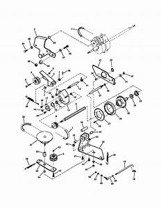 Drive System  Self Propelled  Diagram  U0026 Parts List For